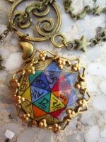 bijou artisanal créé aux heures planétaires sur www.ombre portée.com